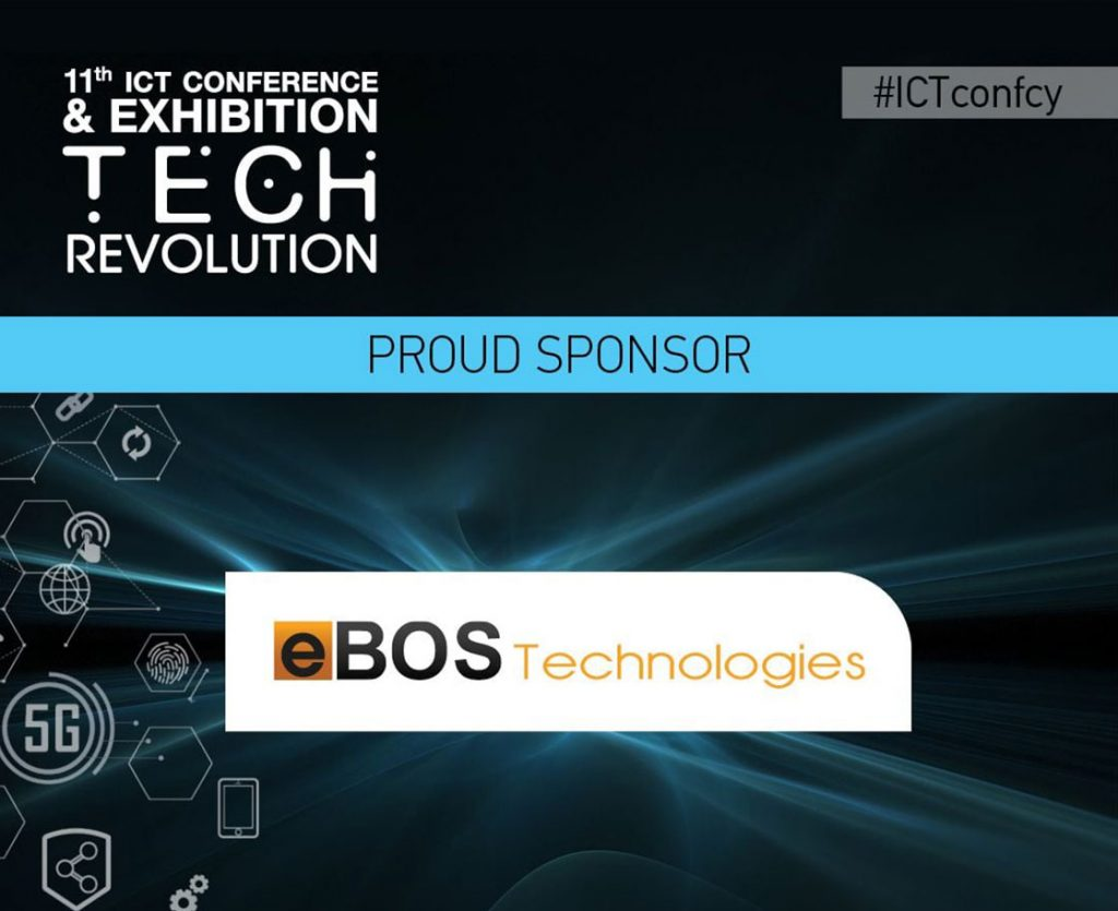 eBOS Technologies Ltd is a Proud Sponsor of the 11th ICTconfcy Conference & Exhibition TECH REVOLUTION