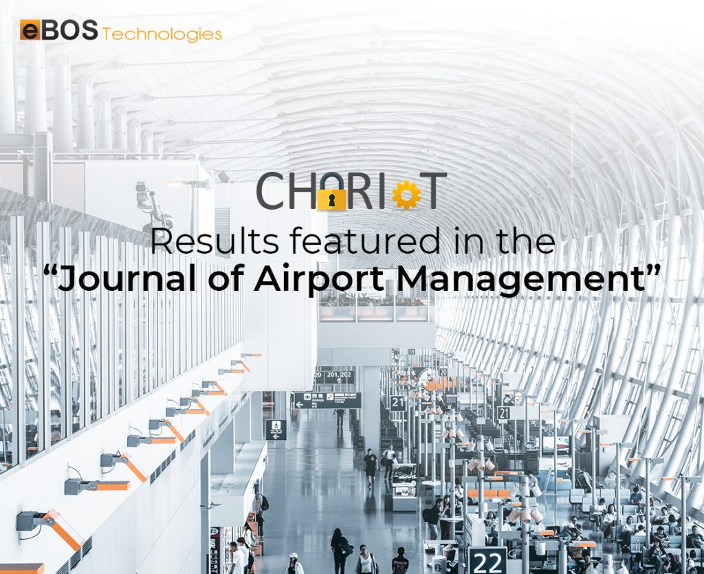 """CHARIOT results featured in the """"Journal of Airport Management"""""""